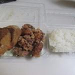 からつ庵 - 料理写真:スペシャル弁当600円。
