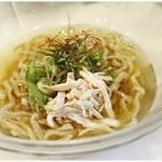麺画廊 英 - 鯛出汁冷菜麺~極~ 920円 ガツンと鯛!