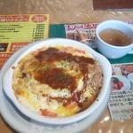ぱんどら - 料理写真:とんかつグラタンドリア2017.8月