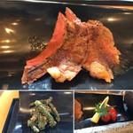 71319795 - 牛ステーキと握り寿司御膳
