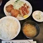 ねのひ - ミックス定食 750円