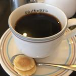 神野喫茶店 × JINNO COFFEE - セットのホットコーヒー