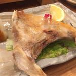 魚心 - カマ塩焼き