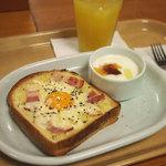 カスカード - カルボナーラトースト