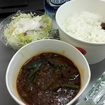 松屋 氷川台店 - 麻婆カレー大盛¥590