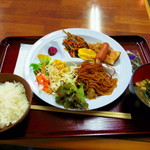 ビジネスホテル羽根 伊勢インター - 料理写真:初回の朝食。