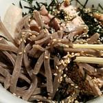 酢重正之 楽 - 蕎麦リフト