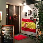 バル恵比寿 - オシャレなお店の入口