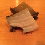 後楽寿司 やす秀 - 蒸し鮑煮