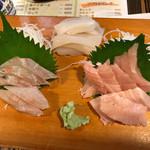 居酒屋せいご - 料理写真:エビ抜きで刺し盛り(二人前)