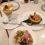 ホテルオークラ神戸 テラスレストラン ビアガーデン -