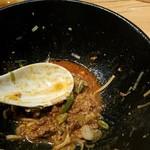 麻布麺房どらいち - 余った肉味噌