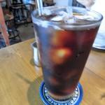 カフェ亀の橋 - アイスコーヒー