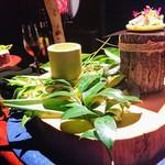 レスト ケイ ヤマウチ - お部屋を移動して森をイメージしたお料理……♪