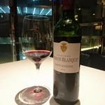レスト ケイ ヤマウチ - お肉料理に合わせて赤ワイン!