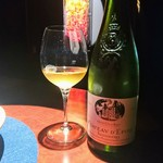 レスト ケイ ヤマウチ - お魚料理にあわせて白ワイン!