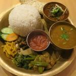ネパール ミテリキッチンレストラン&バー - ネパールセット
