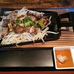 とり家ゑび寿 - 宮崎鶏モモ焼定食(税込900円)