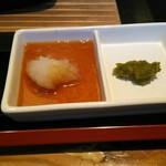 とり家ゑび寿 - おろしポン酢・ゆず胡椒(めっちゃ辛い❗)