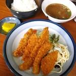 さかゑ食堂 - イカフライ定食530円