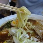 にぼしまじん - 味噌は太麺
