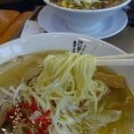 にぼしまじん - しおは細麺デス