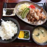 三星食堂 - テリマヨ定食