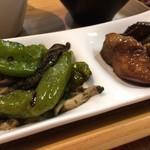 ひょうごイナカフェ - お惣菜2品も満足(2017.8.11)