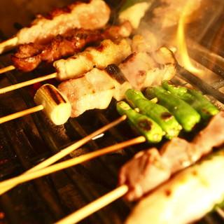 名古屋コーチン&三河鶏の焼き鳥