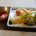 蕎麦 阿き津 - 天ぷら