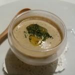 リストランテソットラルコ - 焼きトウモロコシの冷製スープ