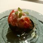 リストランテソットラルコ - 真鯛のカルパッチョ