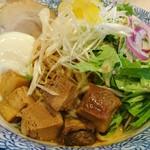 冷やし辛味噌麺 750円
