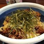 丸亀製麺 - 旨辛 肉つけうどん 690円