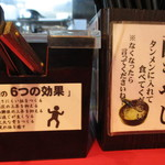 元祖タンメン屋 - 味変 酢もやし