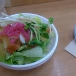 デリー 上野店 - サラダ