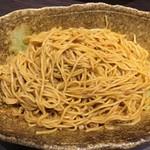 71339255 - 汁なし担担麺 辛さ×2 大盛り(混ぜた後)
