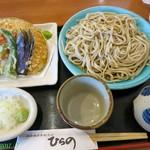 ひらの - 野菜天もりそば\900(税別)