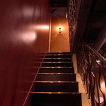 香得莱 - ニ階への階段
