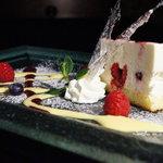 テイストシックス - メレンゲムースのレアチーズケーキ☆ふわっふわ♪