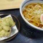 欽太郎うどん - 鶏の磯辺揚げうどん \580