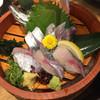 にぎり長次郎 - 料理写真:泳がし鯵(993円)