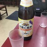 大黒ラーメン - 大ビール(500円)