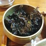 青鶴洞 - 乾燥岩海苔