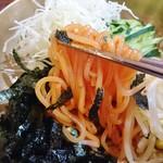 青鶴洞 - 冷麺より太麺!