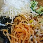 青鶴洞 - 汁なしの混ぜ麺!