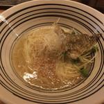 堂の浦 - 料理写真:鯛塩ラーメンです☆ 2017-0811訪問