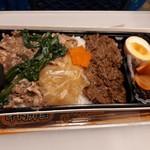 駅弁屋 品川宿 - 牛肉弁当