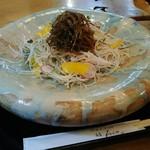 石心 - 高原野菜そば 1400円