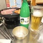 韓無量 - マッコリをビールで割ってモッコリ。